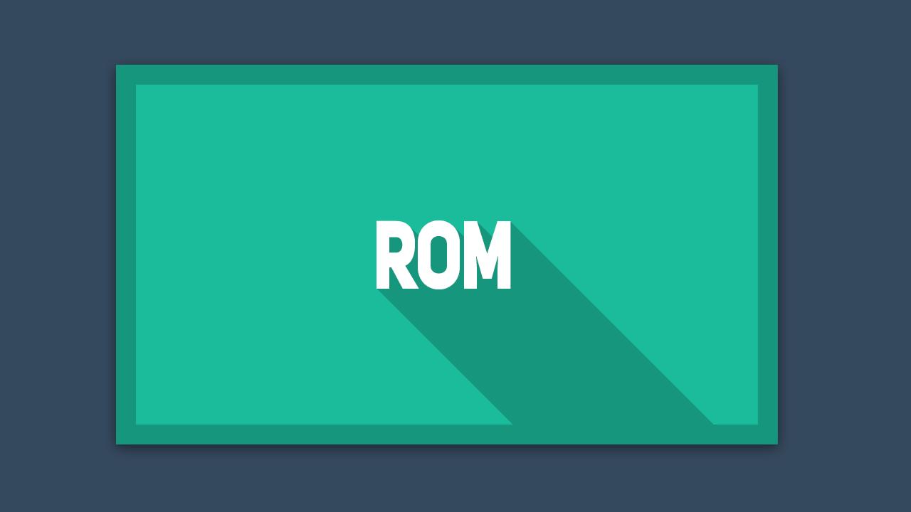 Apa itu ROM