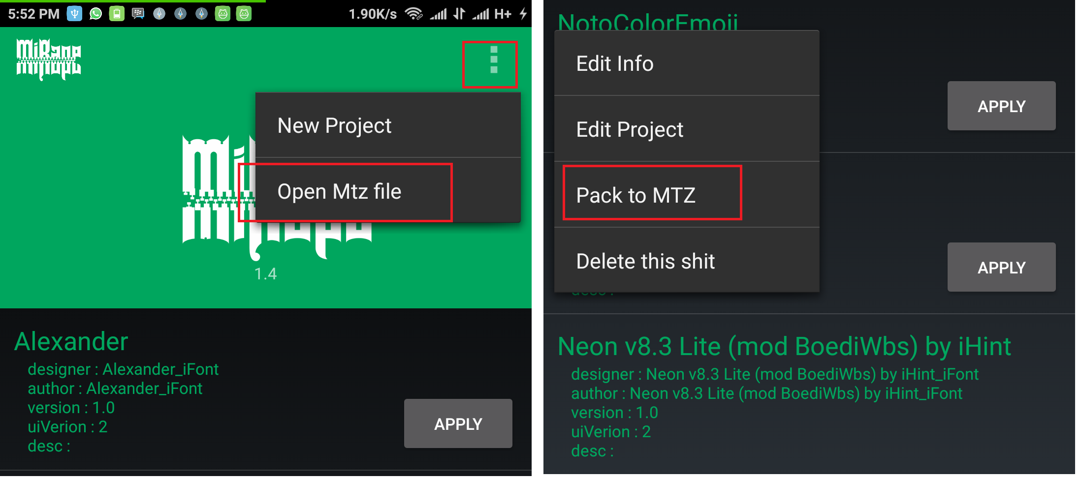 Cara Ganti Nama Operator dengan Logo Operator di Statusbar Xiaomi 2