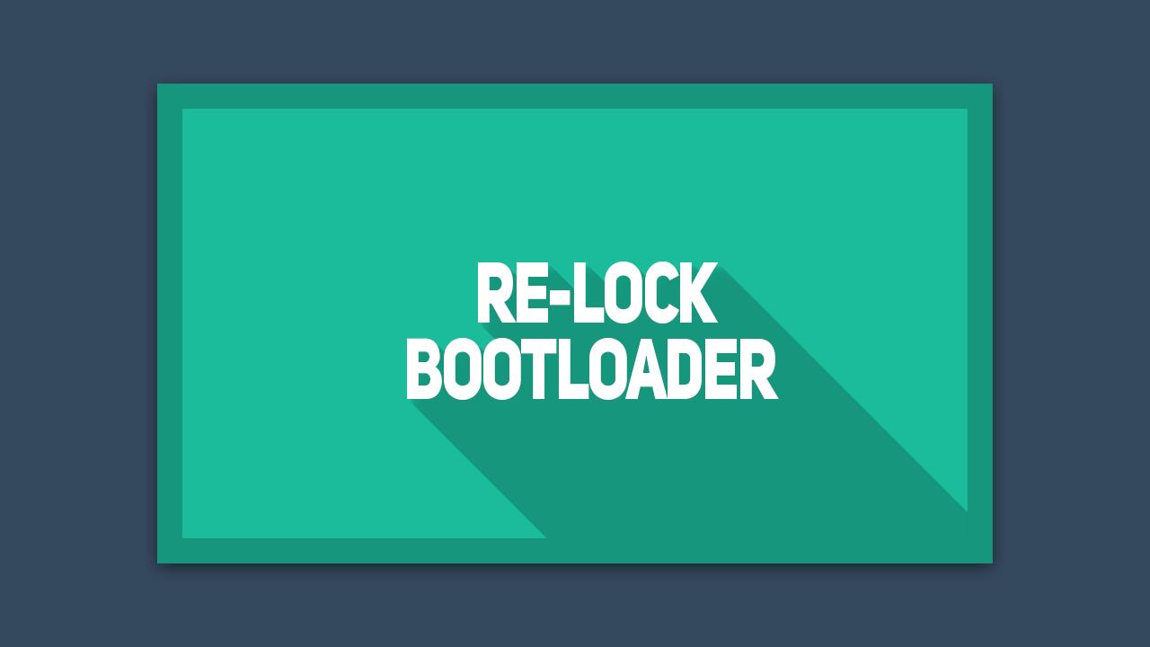 Cara Relock Bootloader Xiaomi dengan ADB