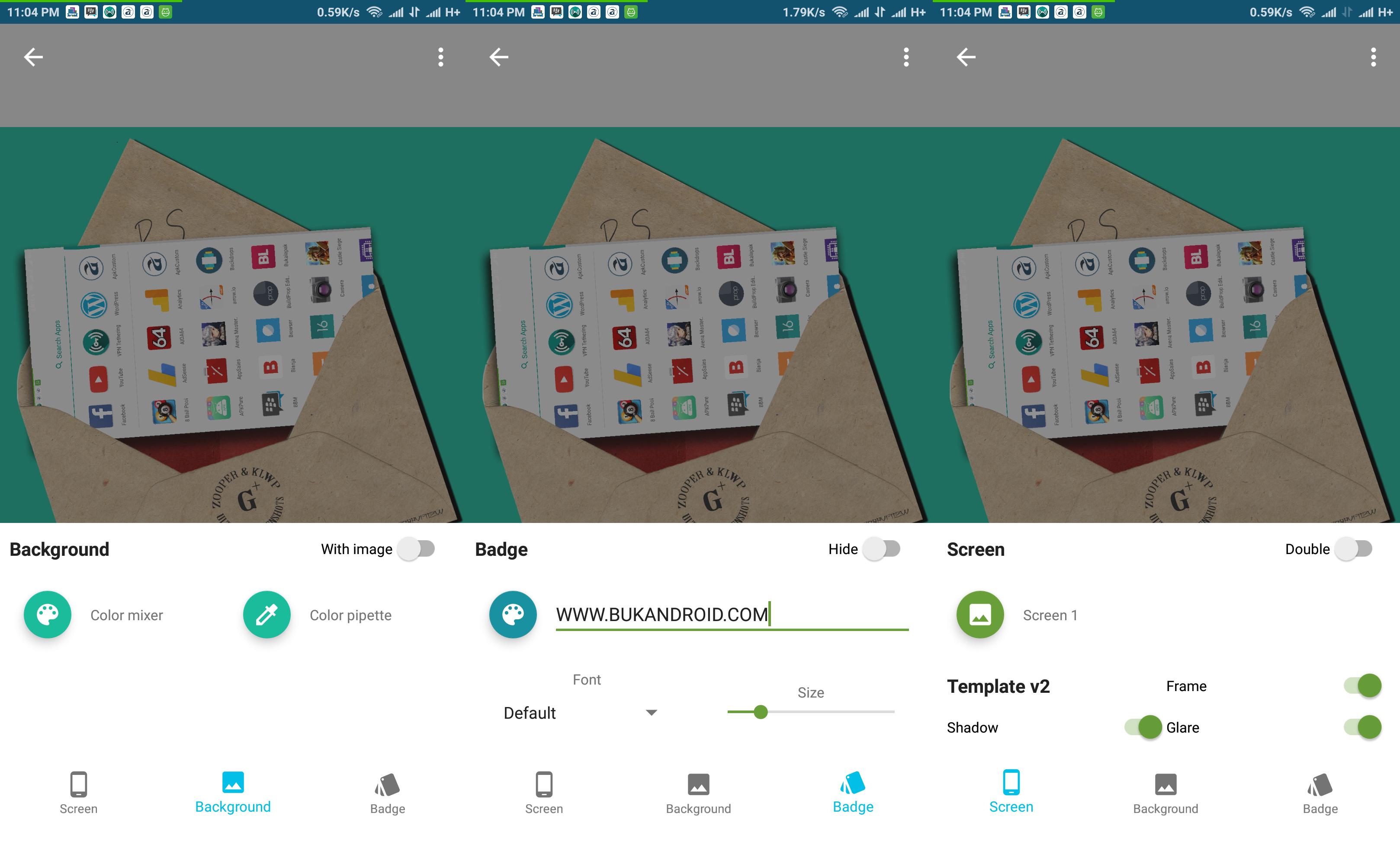 Cara Membuat Screenshot Keren dan Menarik dengan Hishoot Template