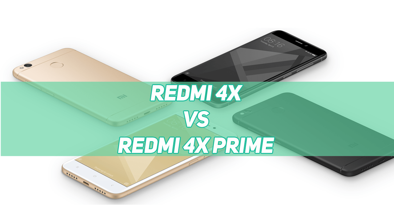 Xiaomi Redmi 4X 2GB vs Redmi 4X 3GB vs Redmi 4X 4GB