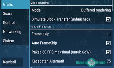 Cara Setting Aplikasi PPSSPP Emulator di Android