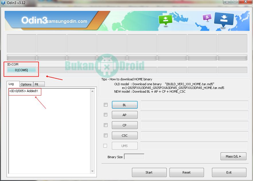 Cara Flash Dan Install Stock Rom Samsung Menggunakan Odin