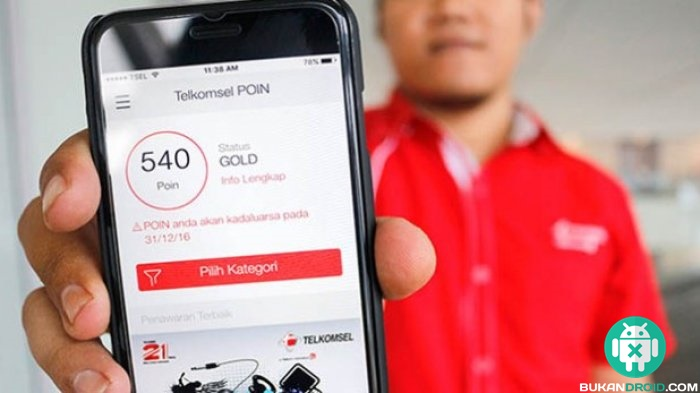 Cara Mudah Menukar Poin Telkomsel